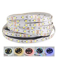 Wholesale narrow led - Non-Waterproof SMD 2835 DC 12V Not Waterproof 5mm Width Narrow PCB 300Leds 5M LED Light Flexible Lamp Strip