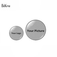 Wholesale BoYuTe Custom Cabochon Round MM MM MM MM MM MM MM MM MM MM Handmade Image Glass Cabochon Stone for Jewelry Making