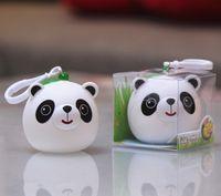 Wholesale Tongue Female Toy - Silica gel tongue, panda stay, doll, extrusion sound, children toy pendant, Chengdu tourist souvenirs