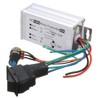 DC 12V 24V 36V 48V SoftStart Reversible Motor Speed ​​Control PWM Controller PWM Newest HOT