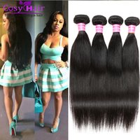 Brazilian Hair Straight Remy Human Soft Hair Cheap Weaves Bundles Virgin best 8A Unprocessed Brazilian Extensions Prices Frete Grátis