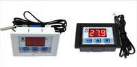 dijital termostat sıcaklık kontrolü toptan satış-Toptan-DC12V 10A Dijital LED Sıcaklık Kontrol Termostat Kontrol Anahtarı Probu DIY ücretsiz kargo için