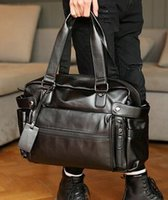 Mens Black Leather Tote Bags Online Wholesale Distributors, Mens ...