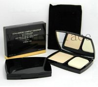Wholesale Double Perfection Compact - Hot Selling DOUBLE Perfection Compact Powder Face Makeup 3 Different Colors 15g Brighten Long-lasting Free shipping 1pcs lot