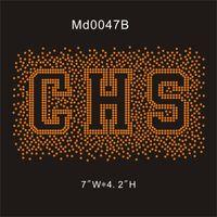 strass de fer orange achat en gros de-MD0047B # Orange CHS 7