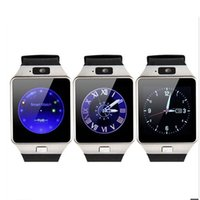 Wholesale Anti Clock - DZ09 Smart Watch Android Phone Call Clock Support SIM TF Smart Health Monitor Anti-lost Smartwatch DZ09 PK GT08 A1 U8