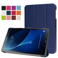 Wholesale Galaxy S3 Mini Shockproof Case - Ultra Slim 3 Fold Flip Magnetic Smart Cover Case For Samsung Galaxy Tab A 2016 T350 T550 T580 S2 S3 T710 T810 T820 With S Pen P580