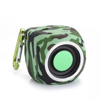 Wholesale Portable Mini Media Speaker - B660 Mini Camouflage Bluetooth Speaker Wireless Speakers 4.1 Waterproof Speaker Portable Handsfree MP3 Media Player Subwoofer Sound Box