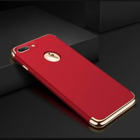 Wholesale stitch phone cases online – custom For Apple phone shell iphone7 phone case all inclusive triple play PLUS stitching drop protection cover