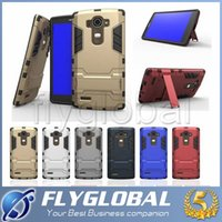 Wholesale S4 Iron Man - Iron Man Robot Hybrid 3in1 Slim Armor Defender Hard PC Silicone Cases Back Cover Case For iphone 7 Plus 5s 6 6plus Samsung S4 5 6 edge note4