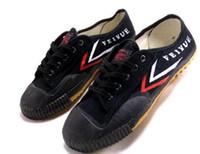 kung fu beyaz siyah toptan satış-Dorp nakliye Feiyue Ultra hafif tuval sneaker ayakkabı Erkekler ve Kadınlar için, Kung fu için, dövüş sanatları ve rahat spor Klasik siyah ve Beyaz