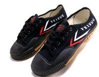 мужская обувь оптовых-Дорп доставка Feiyue ультра легкий холст кроссовки обувь для мужчин и женщин, для кунг-фу, боевых искусств и повседневного спорта классический черный и белый