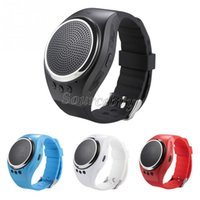 Wholesale Bracelet Bluetooth Speaker - RS09 Music Smart Bracelet XWatch App Bluetooth Sports Smart Watch With Speaker Remote Control Anti-Lost For iOS iPhone Android Smart Phone
