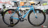 Wholesale Road Bike Decals - 2017 blue color with white decals tour de france FACTOR O2 carbon road bike frameset bicycle frameset taiwan made bike free shipping ems