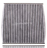 Wholesale Toyota Cabin Air Filters - 21.8x 21.2 CM Carbon Cabin Air Filter For Toyota Lexus Scion Sienna GX470 RX350 Camry Avalon 2005 Free Shipping