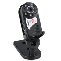 Wholesale Wireless Sd Motion Camera - Car DVR Q7 WiFi Mini camera camcorders DVR Night Vision Sport DV Wireless wifi IP Web Camera camcorder 5 LED Motion Detection