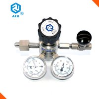 500, 3000Psi oxygen acetylene regulators - AFK R31 Stainless Steel Double Stage quot NPTF Oxygen Nitrogen Hydrogen Acetylene High Pressure Gas Regulator