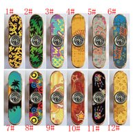 Wholesale Metal Scooters - 2017 new gift Skateboard Hand spinner scooter spinner Portable EDC fidget spinner Fidget Toys ADHD Anti Stress Relief Novelty Toys XT