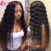 Virgin Brazilian Hair Bundles with Closure Loose Deep Wave Extensions de cheveux humides ondulés Teinture teinté Wet and Wavy Curly Malais Hair Bundles