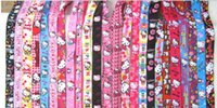 Wholesale kitty cell phone - Wholesale 50pcs Random Mix Cartoon Character kitty Cat Neck Lanyard Straps for MP3 4 cell phone DS lite Free shipping