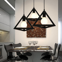 Wholesale Rustic Wrought Iron - wrought iron pendant lights for home black bar pendant lamp home decor lights wedding decoration rustic pendant lights led lamp