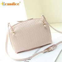 Vente en gros-Meilleur cadeau Nouveau Hcandice Fashion Women Hobo Sac à bandoulière Faux Leather Satchel Crossbody Tote Sac à main bea6610