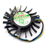 Wholesale graphics video card cooling fan online - New MAGIC MGT5012XF W10 V A NV8600GTS graphics card fan Video Card VGA Cooler Fan PIN