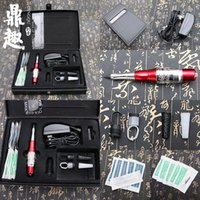 Hot Permanent Makeup Augenbraue Pen Machine Kits Tattoo Pistole Nadeln Kosmetik Tattooing Tool Set