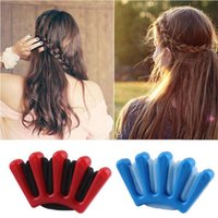 Wholesale hair styles for braids online - New Hair Braider Braid Stylist Sponge Plait hair Twist Styling Braiding Tool for wedding