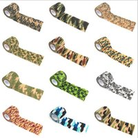 Wholesale wholesale fabric tape - Min 10 pcs per color Since telescopic type non-woven fabrics Outdoor camouflage adhesive tape Hunting hunting camouflage on driving tape