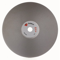 """Wholesale Grinding Grit - Grit 400 Diamond coated 6"""" inch Flat Lap wheel Lapidary lapping polishing disc grind and polish jewelry, glass, rock,"""