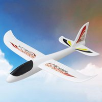 Wholesale Outdoor Hand Launched Glider - Wholesale-Hand Launch Throwing Glider Aircraft Inertial Foam EVA Airplane Toy Plane Model outdoor fun sports