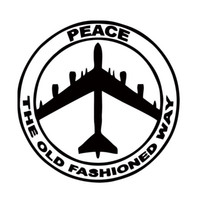 Wholesale roof air - Hot Sale For B-52 Peace Air Force Car Styling Truck Decal Vinyl Funny Sticker Jdm Car Window Accessories Decor