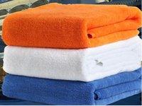 Wholesale Egyptian Towels - 70*140cm 400gsm 21S 80% Egyptian Long-staple Cotton 20% Polyester Bath Towel
