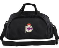 Wholesale Backpack Shoulder Bag Case - Real Club Deportivo de La Corun duffel bag Depor tote Emblem duffle backpack Football luggage Sport shoulder case Outdoor sling pack