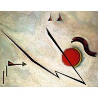Wholesale Paintings Kandinsky - Modern art Broken Line by Wassily Kandinsky paintings on canvas High quality hand-painted