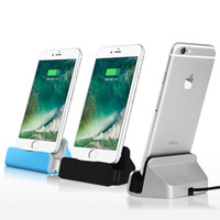 Wholesale Docking Station Dock Data - Original Sync Data Charging Dock Station Desktop Docking Charger USB Cable For Apple iPhone 7 SE 5 5S 5C 6 6S Plus