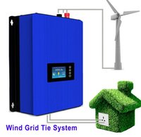 Wholesale Wind Turbines Inverter - Free Shipping 1000W Wind Power Grid Tie Inverter with Dump Load Controller Resistor for 3 Phase 24v 48v AC DC wind turbine generator