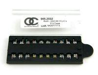 Wholesale Brace Tool - 10 Cases Dental Monoblock Metal Brackets Dental Orthodontic Braces Mbt Roth .022 345 hooks 5*5 New Free Shipping
