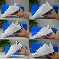 Wholesale Discount Leather Shoes For Women - 2017 Discount Cheap Stan Smith Skate Sneakers Casual Leather New Color For Men Women Fashion Non-Slip Sport Shoes Running Shoes 36-44