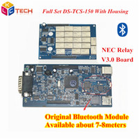 Wholesale New Cdp Plus Quality - A+++ Quality Original Bluetooth Module TCS CDP PRO Plus NEC Relay V3.0 Cars Trucks Diagnostic Tool New VCI Five SW WithLED 3 IN1