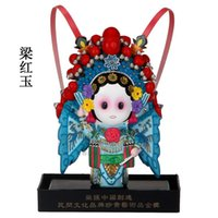 Wholesale Chinese Female Doll - The Q version of the cartoon opera doll Liang Hongyu creative decoration decoration Home Furnishing Chinese wind business affairs gift abroa