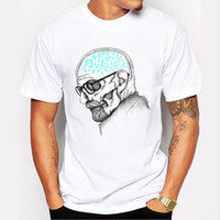 Wholesale breaking bad - 2017 latest men's fashion art design heisenberg printing t-shirt hot sale breaking bad tee shirts Hipster cool tops