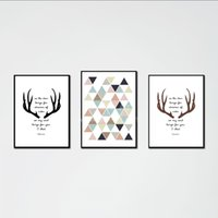 Wholesale European Picture Frames - Modern European Style Wall Decorative Pictures Panels Art Prints Modular Patterns with Frame Custom Canvas Prints for Kid's Room