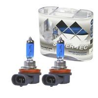 xenon sis seti toptan satış-2x Xenon H11 H8 araba Halojen Sis Lambaları Kiti 4300-5000 K Yüksek Işın HOD Far12 V 100 W Far Ampuller Araba ışık Araba Styling