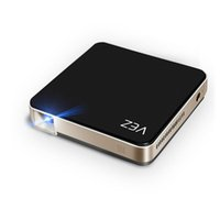 VEZ BOX Proiettore video per videoproiettore multimediale a supporto 1080P HDMI SD Card VGA AV per home cinema tv smartphone per computer portatili