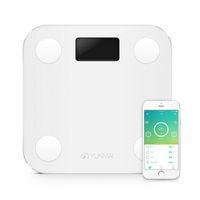 Wholesale Digital Bathroom Scale Free Shipping - Wholesale New Premium Mini Smart Bathroom Body Weighing Scale Mini Digital Scale Support Bluetooth APP free shipping