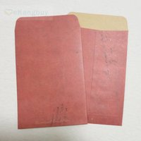 Atacado- 10pcs Vintage Kraft Paper Envelope Retro Party Favor Treat Candy Gift Bolsa de papel 16x11cm