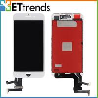 usine libre d'iphone achat en gros de-Affichage de qualité stable pour iPhone 7 Plus Assemblage de l'écran LCD Usine Directement Fournir Cadre de Presse Froide Aucun pixel mort DHL Livraison gratuite