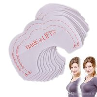 Wholesale Sin Bra Lifting - Instant boob lift Up tape breast lifter Bust Shaper Lift petals Cleavage Bra Invisible Enhance adhesive chest sin bra instant hot pack